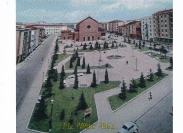 Piazzale Pablo. Parma, 1952